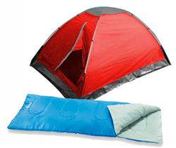 CARPA OUTDOORS EASY + BOLSA DE DORMIR BESTWAY