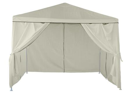 GAZEBO LAURY CON PAREDES 3x3 MTS.
