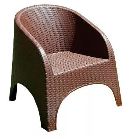SILLON SIMIL RATAN ALEJO QUALITY PLASTIC CHOCOLATE